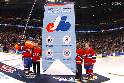 Le Canadiens honore les Expos …